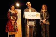 Meritxell Mateu, Toni Martí i Olga Adellach